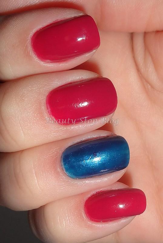 unha da semana esmalte jura da colorama e azul da adriane galisteu beauty stop blog bruna reis unha
