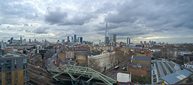 The City of London - Shot from Southwark