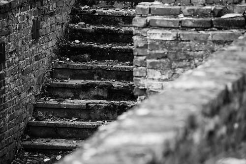Auschwitz Birkenau Stairway to the Gas Chamber