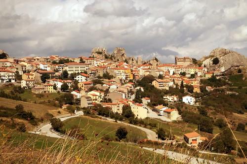 Panorama lungo la strada per Agnone