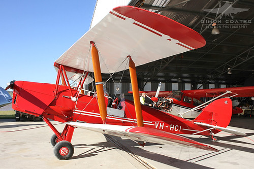VH-HCI DE HAVILLAND DH-82A TIGER MOTH