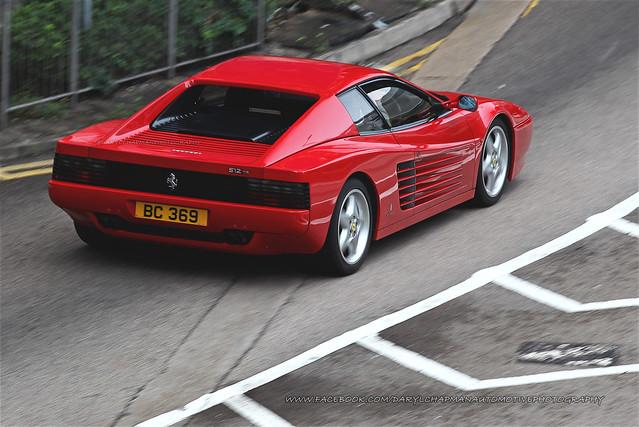Ferrari, 512TR, Wan Chai, Hong Kong