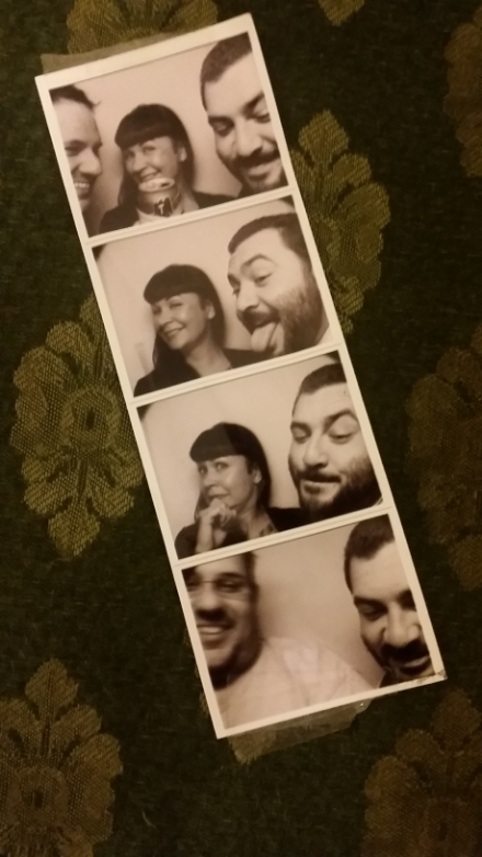 Randos in a Photobooth