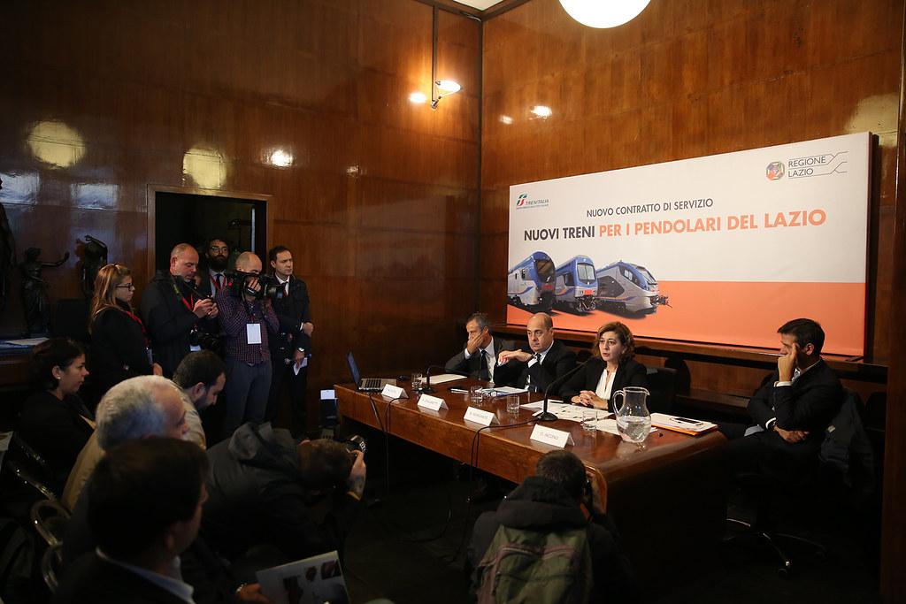 Firma del Contratto di Servizio tra Trenitalia e Regione Lazio