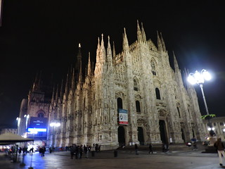 Image of Milan Cathedral. milano duomo cathedral milan μιλάνο ミラノ façade facade night