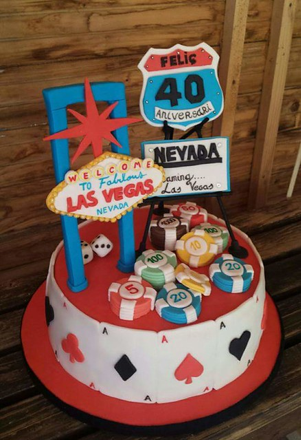 Cake by Manoli Morales of Kylie's Cakes