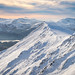 Winter dusk, Blencathra by stewyphoto