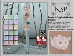 NSP Pandora's Poppies Camisk & Boot - V1