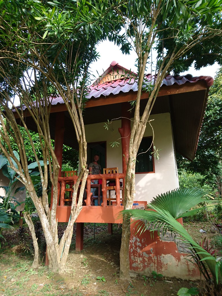 Our home at Nung House, Khao Sok