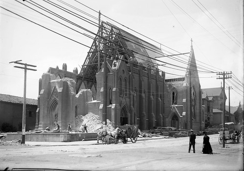 Mission Dolores Church, Dolores and Sixteenth Streets, 1906
