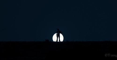 moon silhouette night canon reaper fullmoon silhuetti