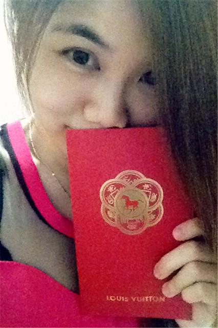 My Birthday Celebration: Red Packet from Mum