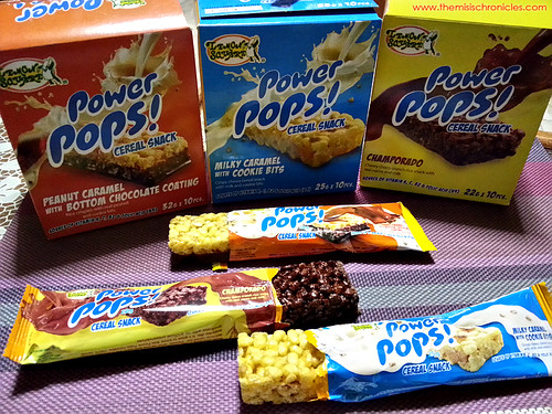 Kid-approved: Lemon Square Power Pops!