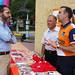 14.6.2014 Derecho a Vivir, con el alcalde de Brunete en la II Feria de la Familia
