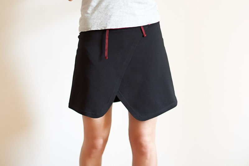 diy running skirt