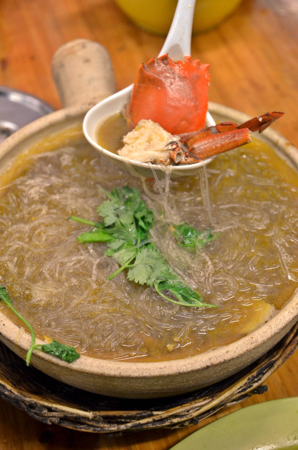 Claypot Crabs Glass Noodles