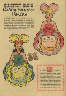 1960 Sluefoot Sue's Golden Horseshoe Dancers - original