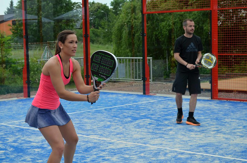 foto partido del International Padel Challenge Berlin