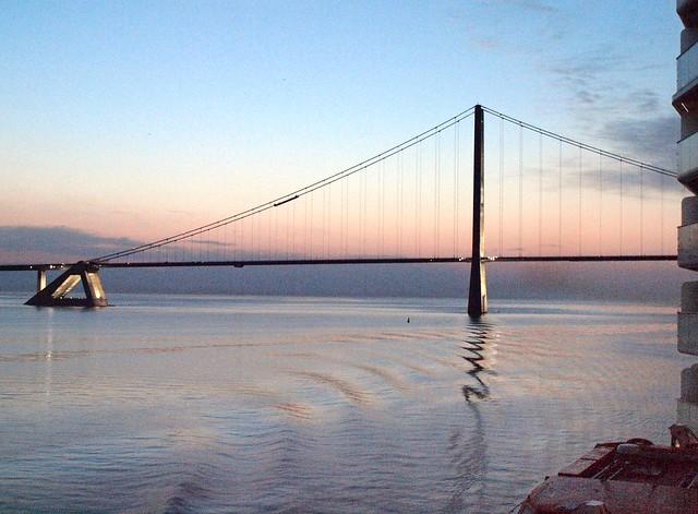 Grand Belt Bridge Denmark