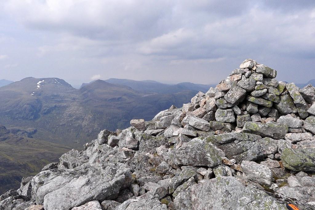 Summit of Mullach Coire Mhic Fhearchair
