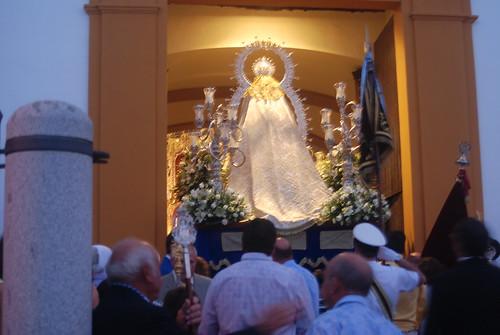 AionSur 14318388281_b021df085c_d La lluvia de final de mayo no evita una bonita procesión de la Virgen de Montemayor Cultura Semana Santa