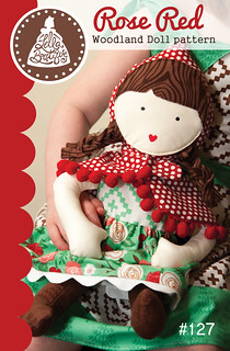 LB127 Rose Red Woodland Doll pattern