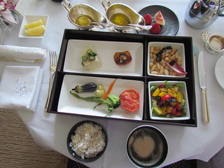 'Healthy breakfast; from hotel