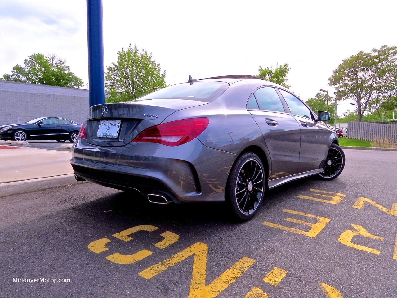 Mercedes-Benz CLA250 Rear