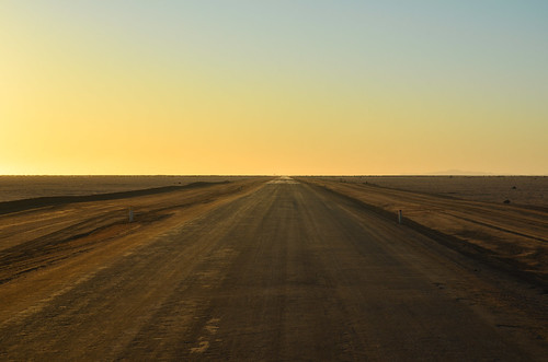 The salt road of the Namib coast