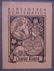 Charles Ricard bookplate