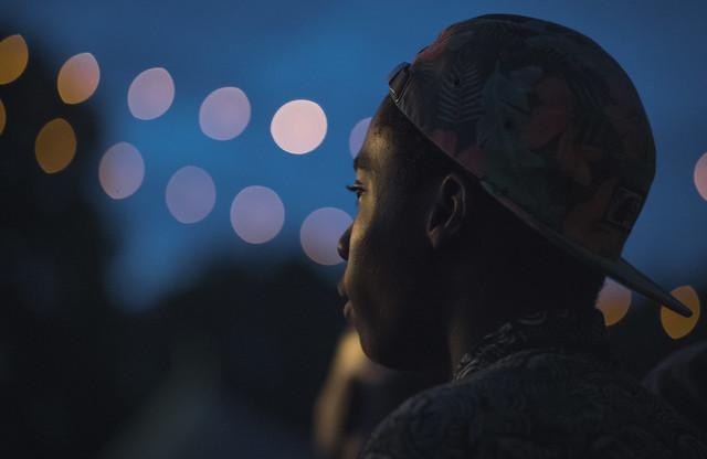 Celebrate Brooklyn in Prospect Park | Deltron 3030 concert spectator