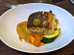 California white sea bass at Frances in the Castro