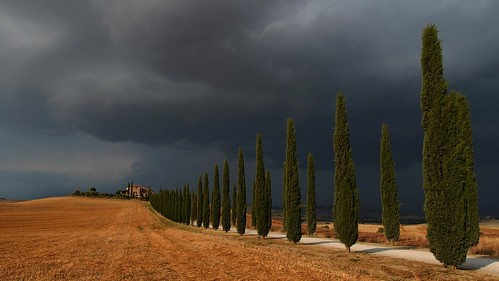 Storm in Val d'Orcia