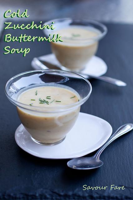 Cold Zucchini Buttermilk Soup title