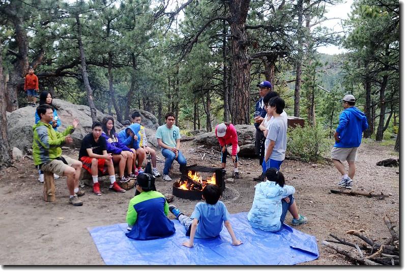 Campfire worship 6