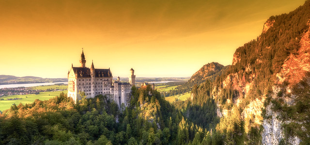 Neuschwanstein Castle - Real Castle of Sleeping Beauty