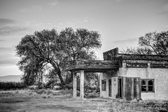 Abandoned Gas Station, Thrall, Washington, October 2013