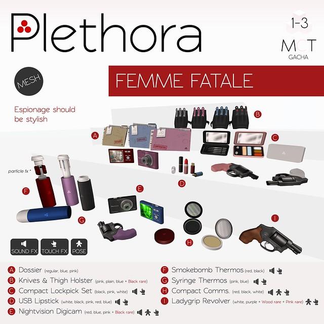 Plethora - Femme Fatale