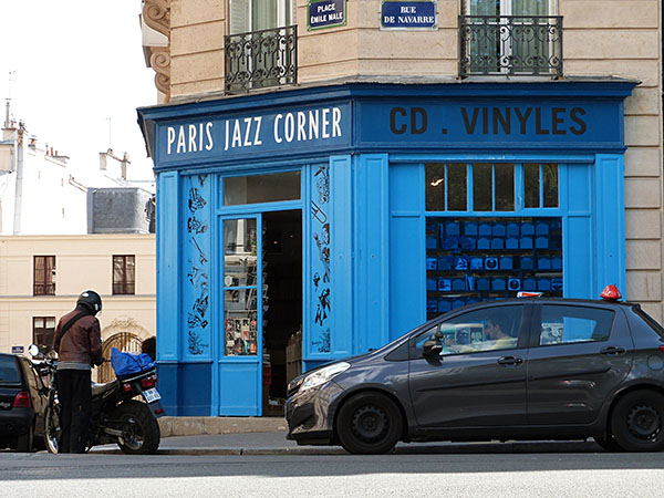 paris jazz corner