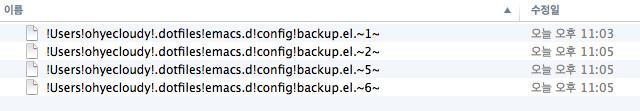 emacs-backup