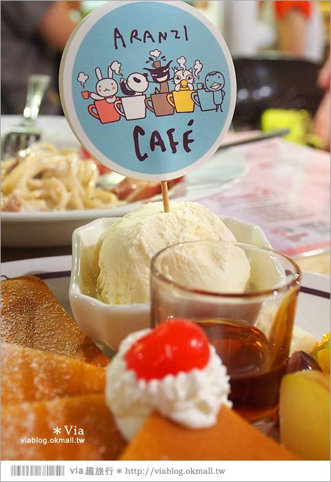 【阿朗基咖啡】台南店開幕囉!台南老屋餐廳推薦~老屋改造+可愛療癒系的新餐廳34