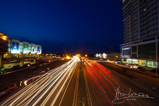 VanS3n-08092014- Long Exposure - Diversion Road, Iloilo City -0005