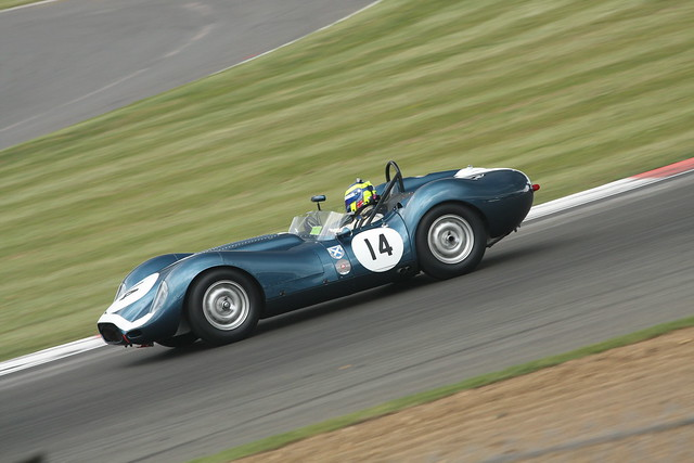 The Tony Rolt Trophy Race for BRDC Historic Sports Cars.
