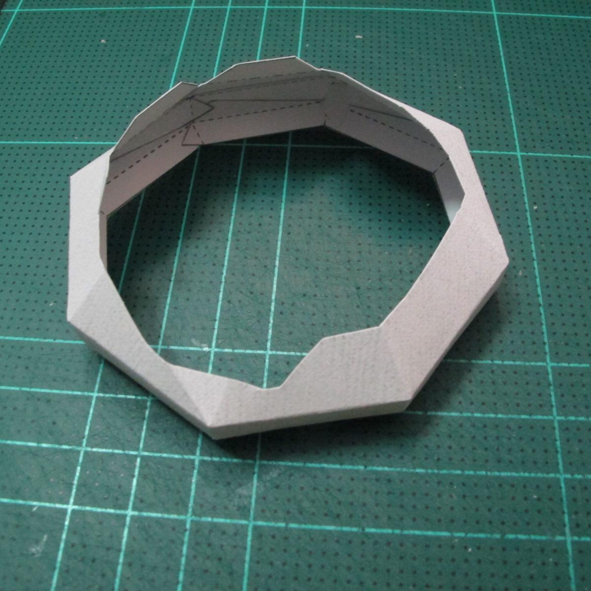 วิธีทำโมเดลกระดาษของเล่นคุกกี้รัน คุกกี้รสพ่อมด (Cookie Run Wizard Cookie Papercraft Model) 010