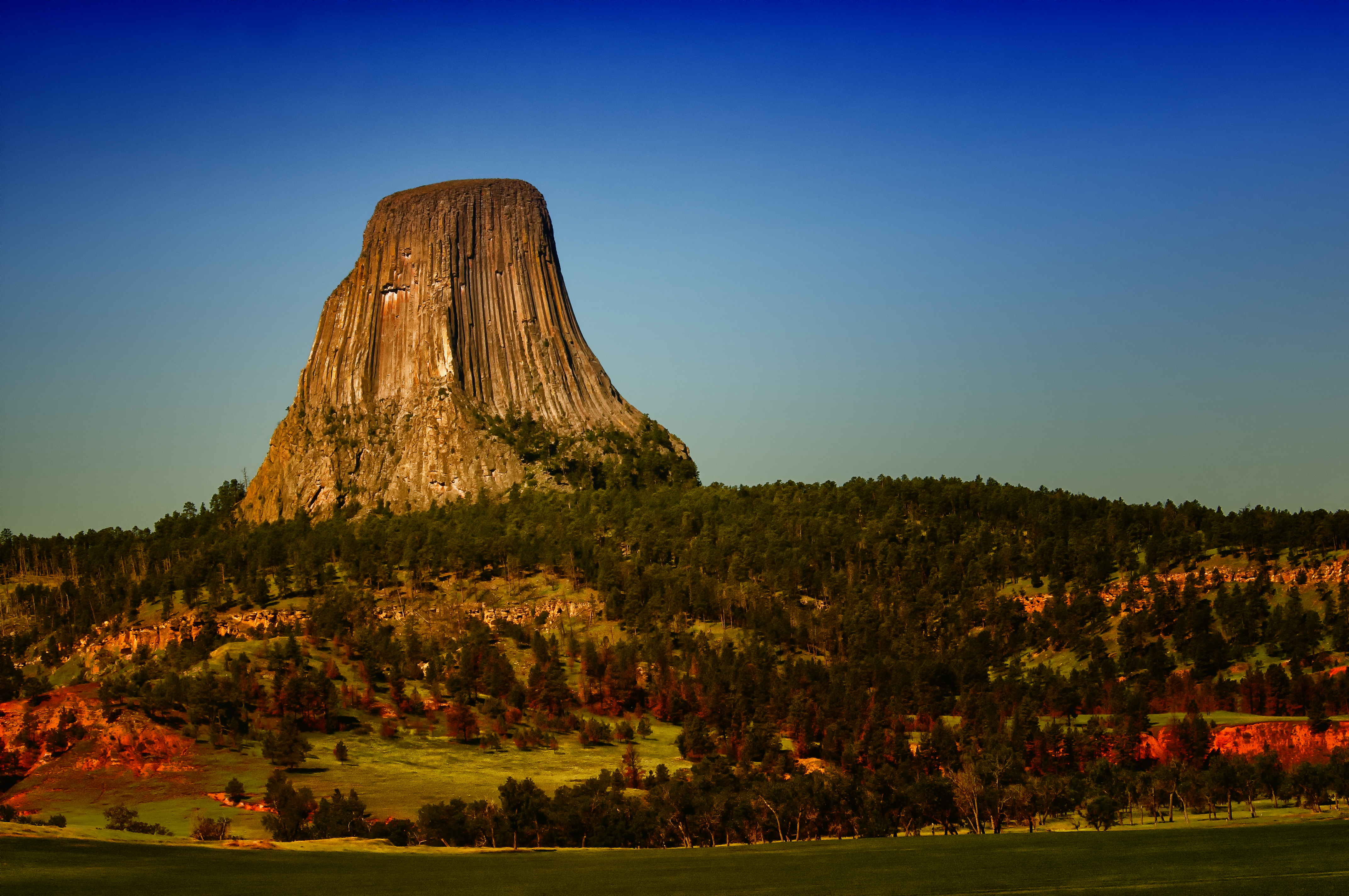 Devils Tower Wy >> Elevation of Main St, Hulett, WY, USA - Topographic Map - Altitude Map