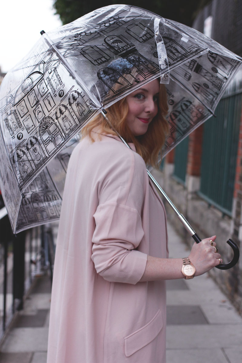 Lulu Guinness Umbrella, Bumpkin Betty