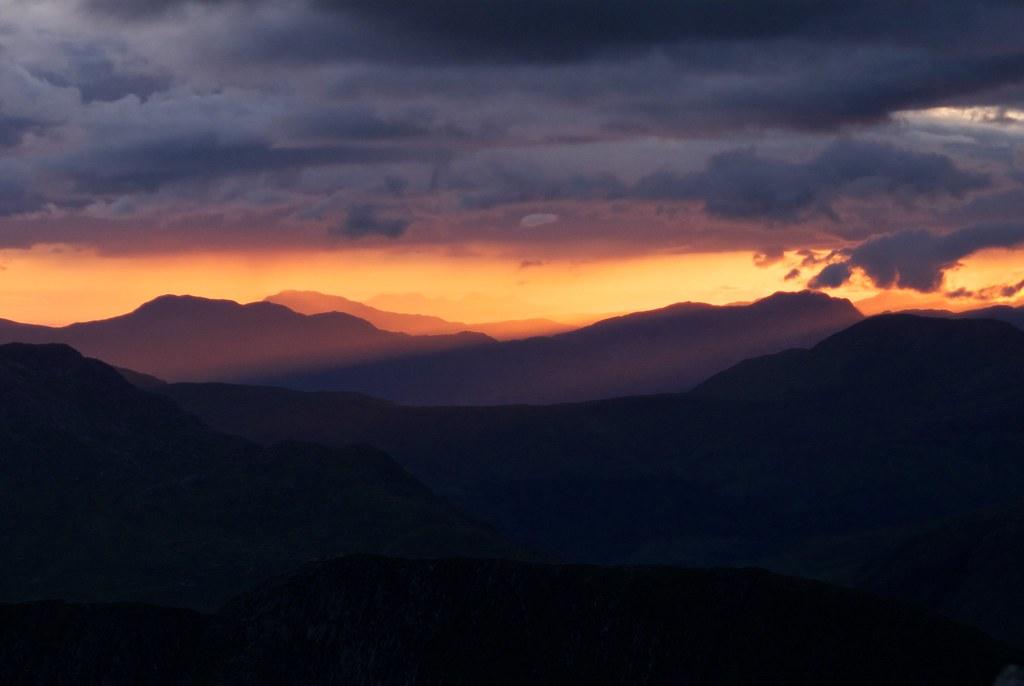 Jura at Sunset from Ben Starav