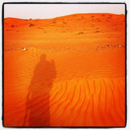 sunset shadow square sand desert dune lofi squareformat selfie iphoneography instagramapp uploaded:by=instagram
