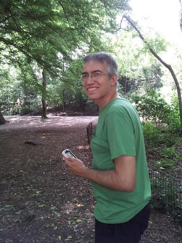 Rudi in Central Park