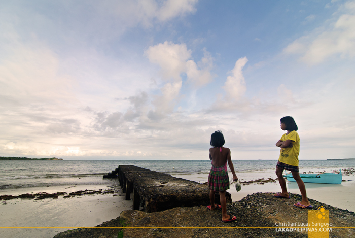 Tambobong Beach in Dasol, Pangasinan